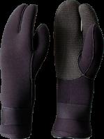 7 mm - 3-Fingerhandschuhe, lang mit Kevlar