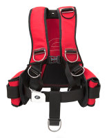COMFORT RED HARNESS without back pad and pockets