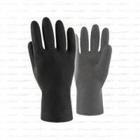 Dry Glove Ersatzhandschuhe schwarz Größe L / XL