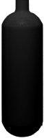 ECS 1 L / 200 bar Stahlflasche schwarz  mit Ventil 12185...