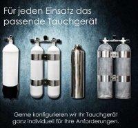 ECS 12L kurz/232 bar Stahlflaschenkörper